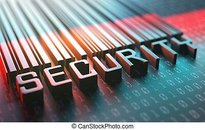 barcode, seguridad el acceso