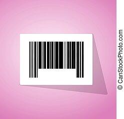 barcode ups code illustration