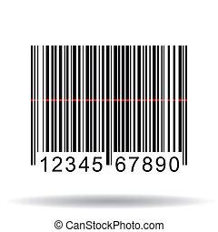 Barcode, Vector Illustration