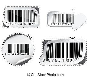 barcodes., komplet