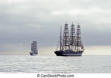 barcos altos
