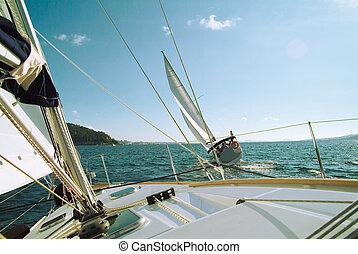 barcos, carrera