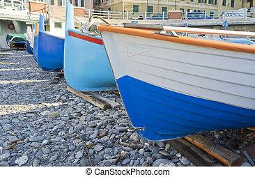 barcos, praia