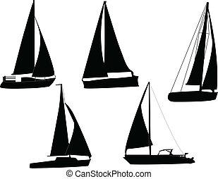 barcos, vela