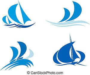 barcos, yates, regata