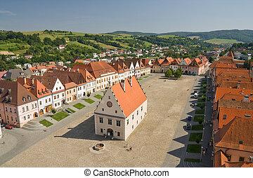 bardejov - unesco town - bardejov square - unesco town in ...