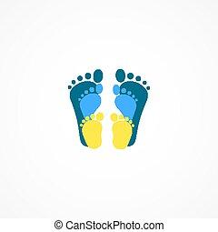 Bareboot family logotype design