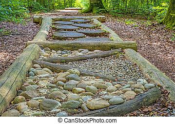 barefoot track