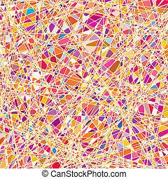 barevné sklo, tkanivo, do, jeden, nach, tone., eps, 8
