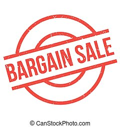 Bargain Sale rubber stamp
