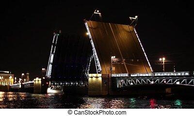 Barge And Palace Bridge