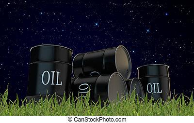 barili, olio