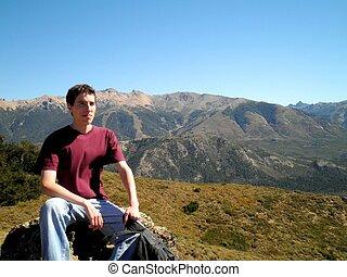 bariloche, patagonia, homem, natureza