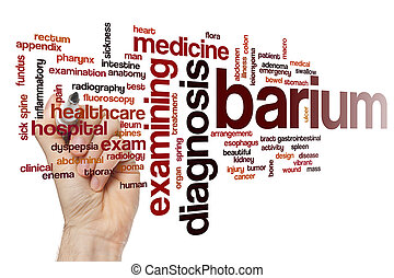 Barium word cloud
