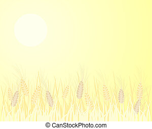 barley background - an illustration of an abstract image of ...