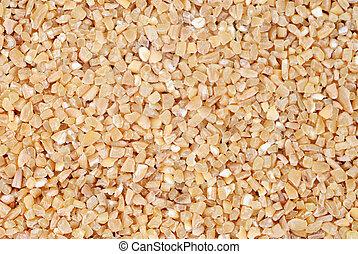 Barley macro fine food background