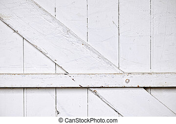 Barn door background - Background of old wooden barn door...