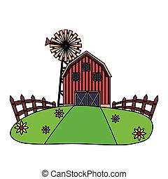 barn farm fresh