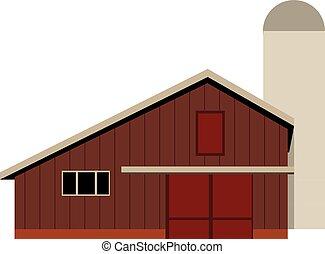 Barn for a farm