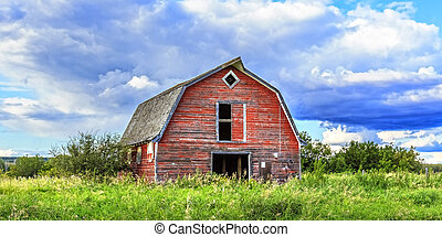 Barn on the Prairies