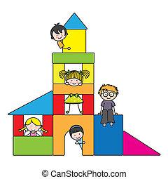 barn spela