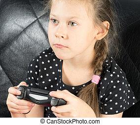 barn spille, boldspil video