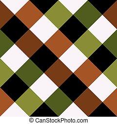 barna, gyémánt, zöld, sakkjáték, háttér, bizottság