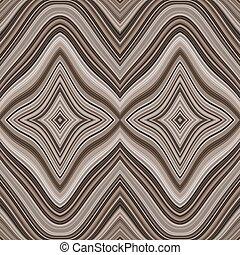 barna, megvonalaz, pattern., seamless, hullámos, fehér