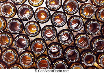 barna, pohár palack, tető kilátás