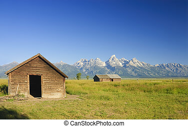 Barns on the prairie