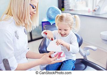 barns, tandläkare