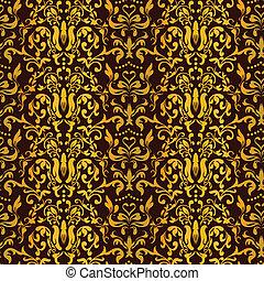Barocco Seamless Pattern Vector
