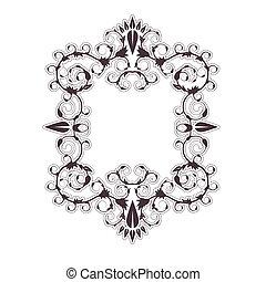 barok, frame