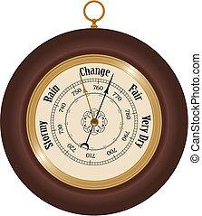 Barometer - Detailed barometer illustration