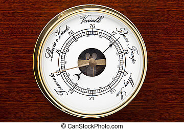 barometer for weather forecast and pressures