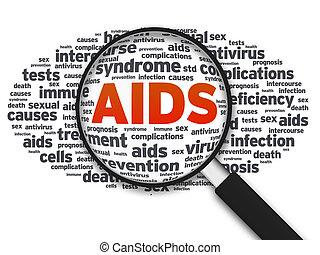 barometr, -, zvetšovací sklo, aids