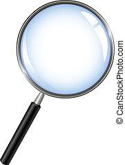 barometr, zvetšovací sklo