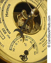 barometro, termometro