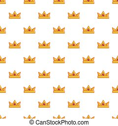 Baronet crown pattern seamless - Baronet crown pattern in...