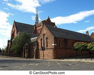 The Barony Parish of Glasgow church building