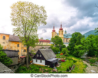 Baroque Basilica of the Visitation of the Blessed Virgin Mary in Hejnice, Czech Republic