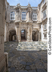 baroque building in Siracusa