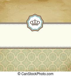 Baroque card