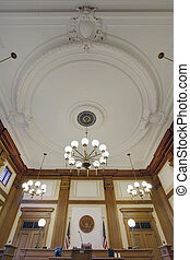 Baroque Ceiling in Pioneer Courthouse - Baroque Ceiling ...