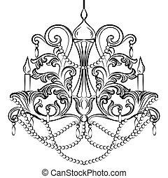 Baroque Classic chandelier