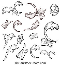 Baroque design elements