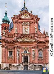 Neumunster church, Wurzburg, Germany