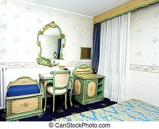 Baroque interior corner