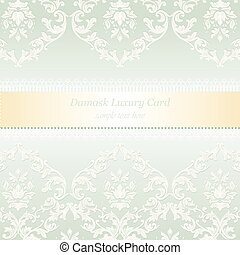 Baroque Luxury Invitation card