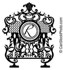 Baroque Ornament Decor element